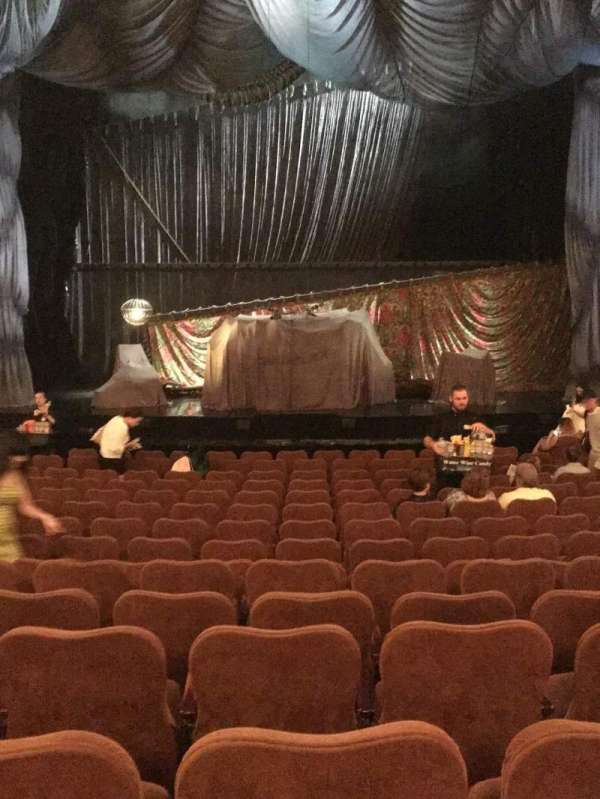Majestic Theatre, secção: Orchestra C, fila: N, lugar: 108