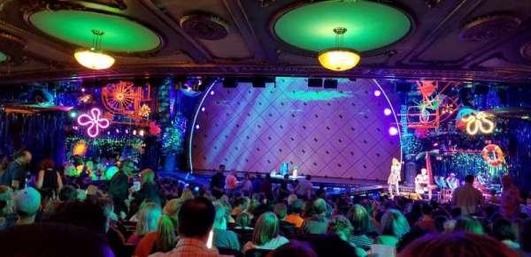 Palace Theatre (Broadway), secção: Rear Orchestra Center, fila: Z, lugar: 118