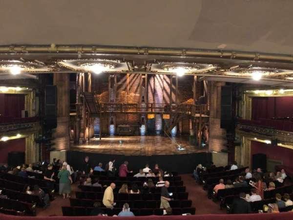 CIBC Theatre, secção: Dress Circle C, fila: B, lugar: 207