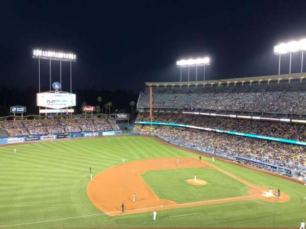 Dodger Stadium, secção: 23RS, fila: J, lugar: 10