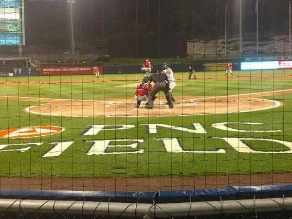 PNC Field, secção: 21, fila: 2, lugar: 6