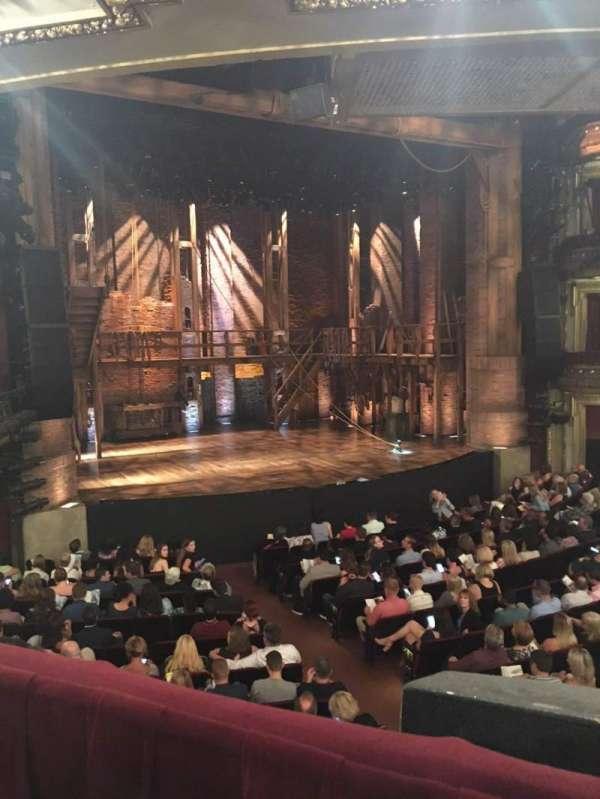 CIBC Theatre, secção: Dress Circle L, fila: A, lugar: 3