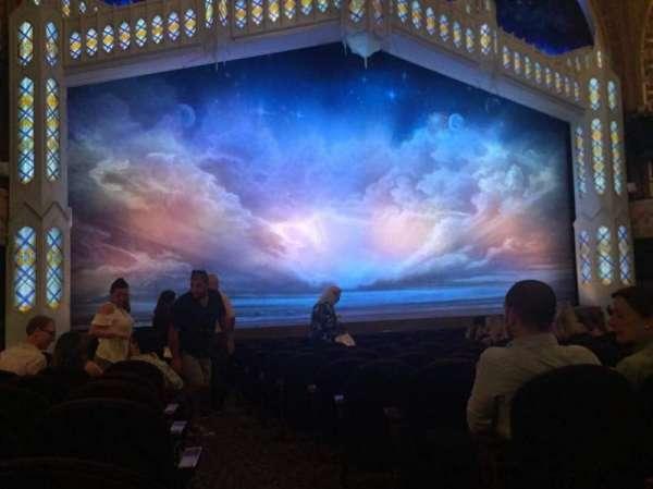 Eugene O'Neill Theatre, secção: Orchestra L, fila: M, lugar: 1