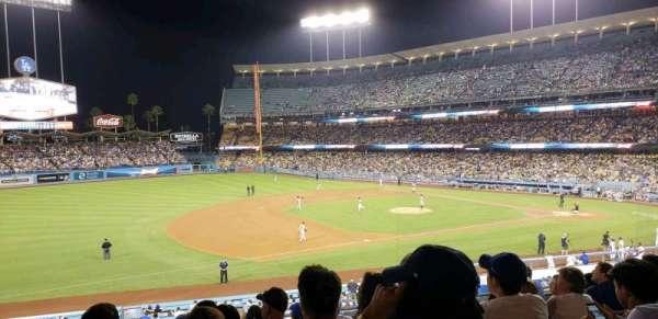 Dodger Stadium, secção: 141LG, fila: J, lugar: 8