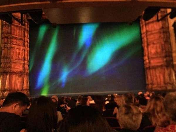 St. James Theatre, secção: Orchestra C, fila: M, lugar: 109