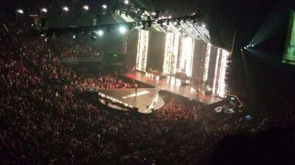 Staples Center, secção: 303, fila: 4, lugar: 11