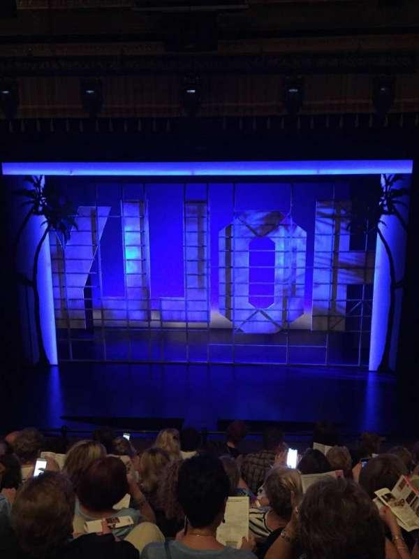 Nederlander Theatre, secção: Mezzanine C, fila: G, lugar: 105