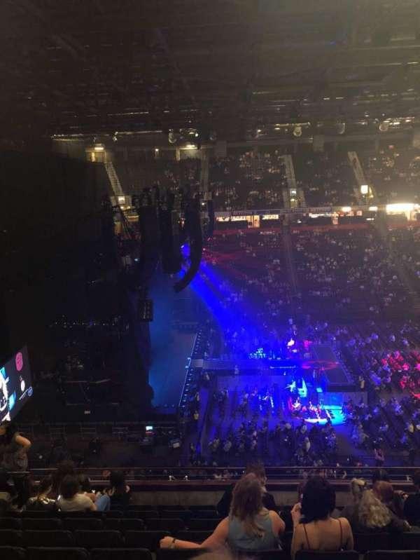 Manchester Arena, secção: 202, fila: J, lugar: 11