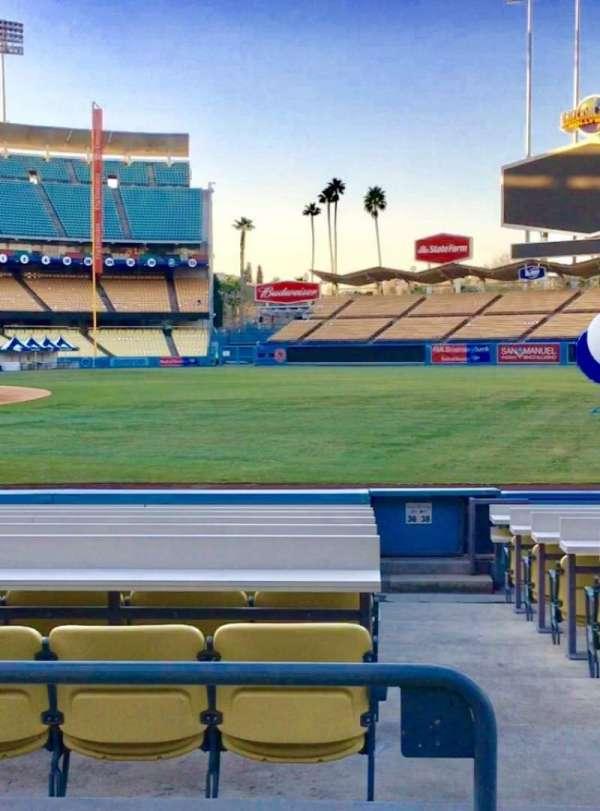 Dodger Stadium, secção: 36FD, fila: C, lugar: 8