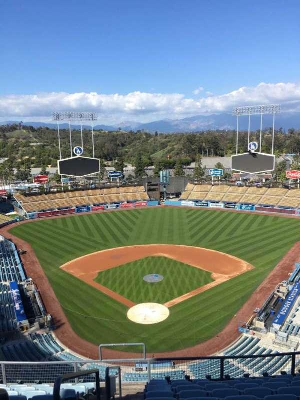 Dodger Stadium, secção: 2TD, fila: K, lugar: 1-2