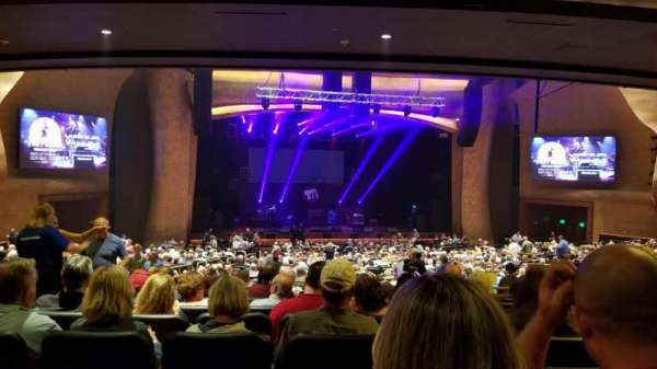 The Grand Theater at Foxwoods, secção: PRTCTR, fila: MM, lugar: 129
