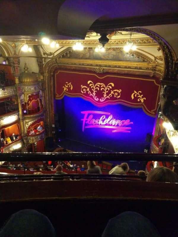 Grand Opera House (Belfast), secção: Gods, fila: E, lugar: 29