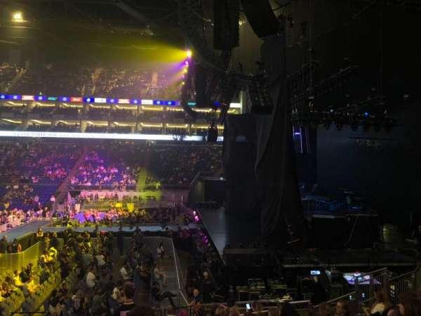 The O2 Arena, secção: 112, fila: Q, lugar: 389