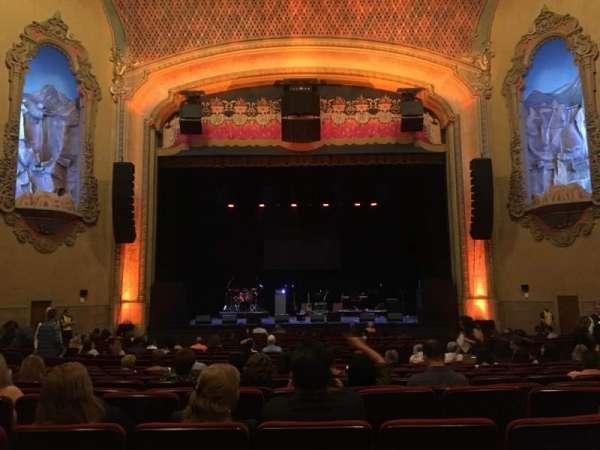Balboa Theatre, secção: Orchestra, fila: U, lugar: 112
