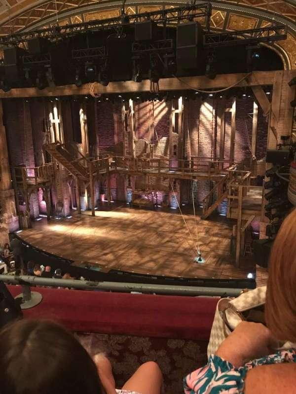 Richard Rodgers Theatre, secção: Front Mezzanine R, fila: B, lugar: 10