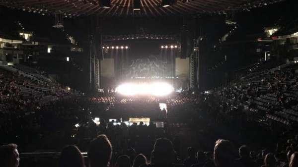 Oracle Arena, secção: 107, fila: 14, lugar: 14
