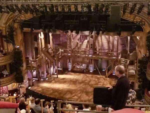 Richard Rodgers Theatre, secção: Rear Mezzanine R, fila: K, lugar: 10