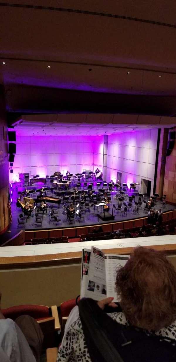 Phoenix Symphony Hall, secção: Balcony, fila: 3, lugar: 55