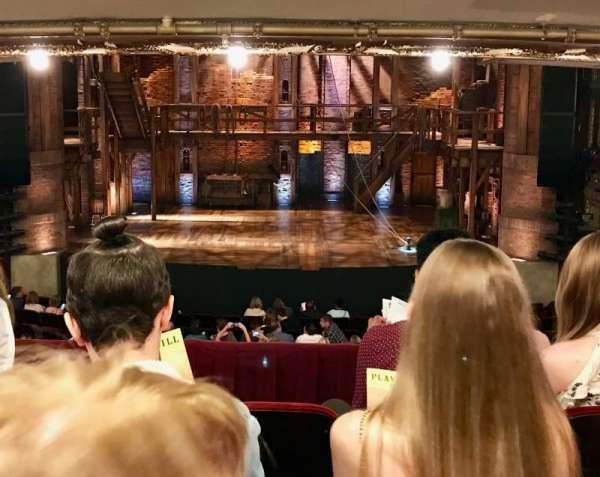 CIBC Theatre, secção: Dress Circle RC, fila: D, lugar: 206
