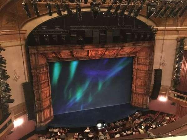St. James Theatre, secção: Balcony L, fila: A, lugar: 3