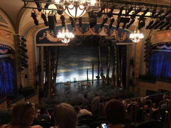 Gerald Schoenfeld Theatre, secção: Mezzanine L, fila: K, lugar: 9