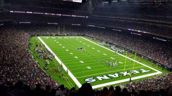 NRG Stadium, secção: 551, fila: L, lugar: 11