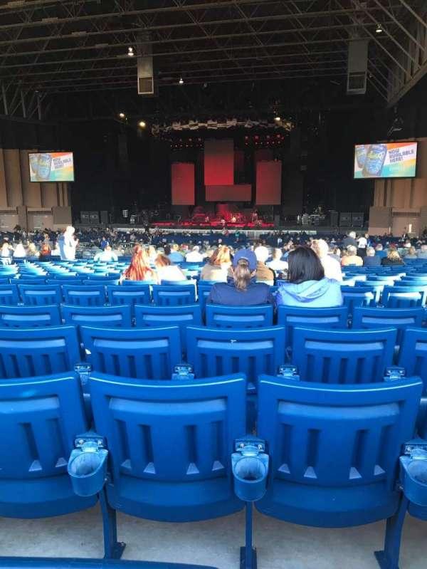 Sunlight Supply Amphitheater, secção: 203, fila: Z, lugar: 7