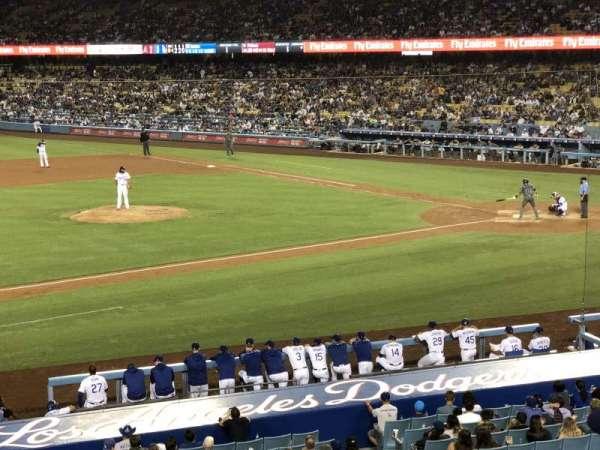 Dodger Stadium, secção: 135LG, fila: C, lugar: 7