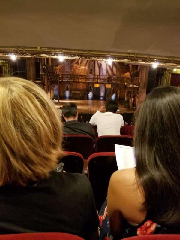 CIBC Theatre, secção: Dress Circle RC, fila: D, lugar: 207