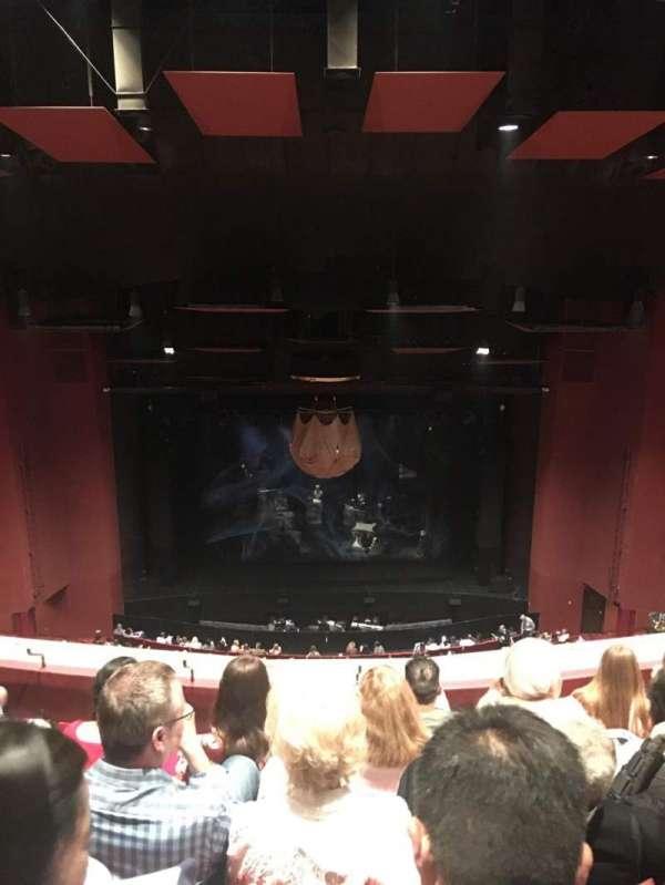 San Diego Civic Theatre, secção: Balcony l, fila: T, lugar: 1