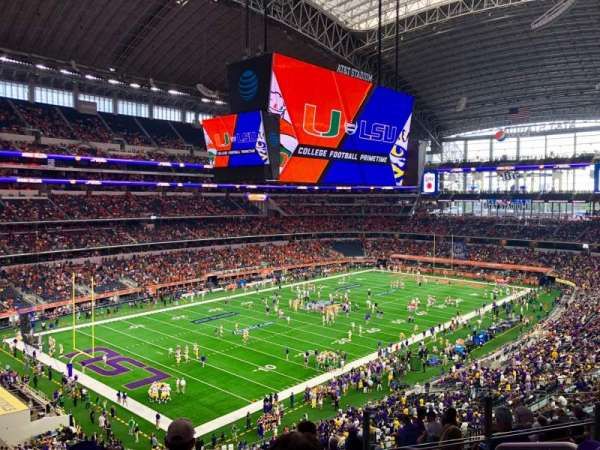 AT&T Stadium, secção: 343, fila: 15, lugar: 4