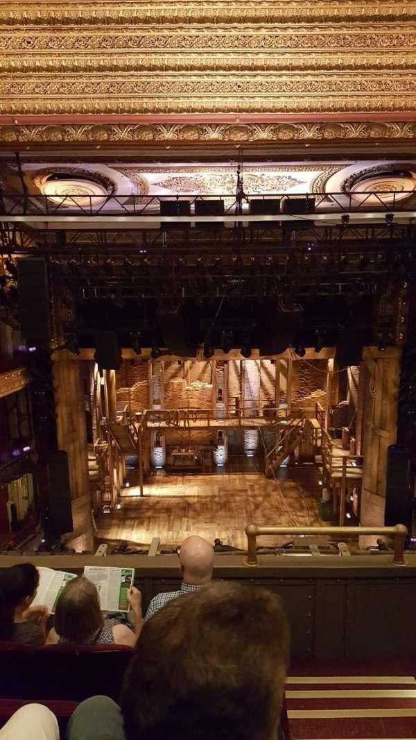 CIBC Theatre, secção: Balcony LC, fila: D, lugar: 401