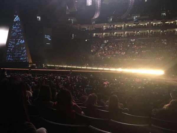 Oracle Arena, secção: 115, fila: 10, lugar: 5