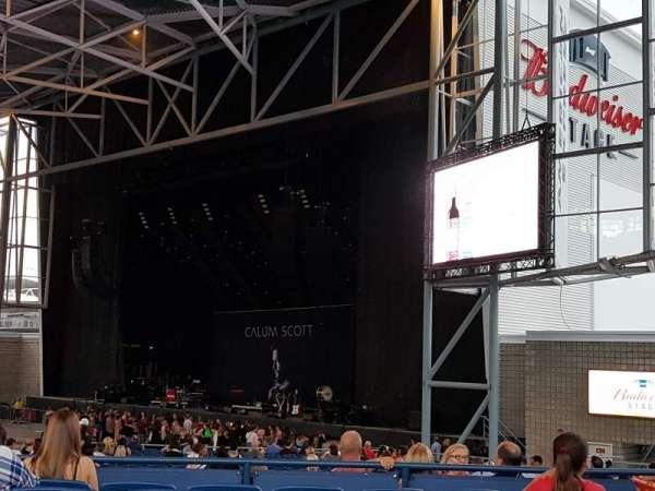 Budweiser Stage, secção: 301, fila: G, lugar: 21