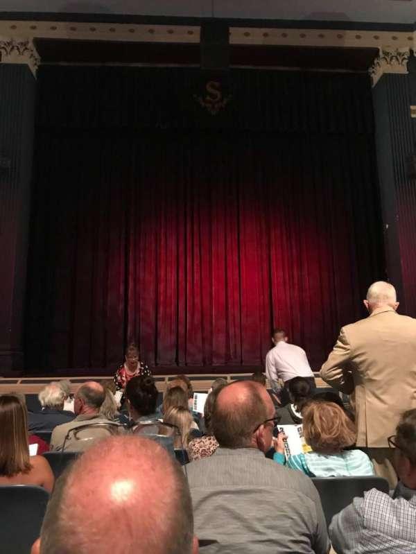 Baldwin Theatre, secção: Main Stage Center, fila: H, lugar: 110