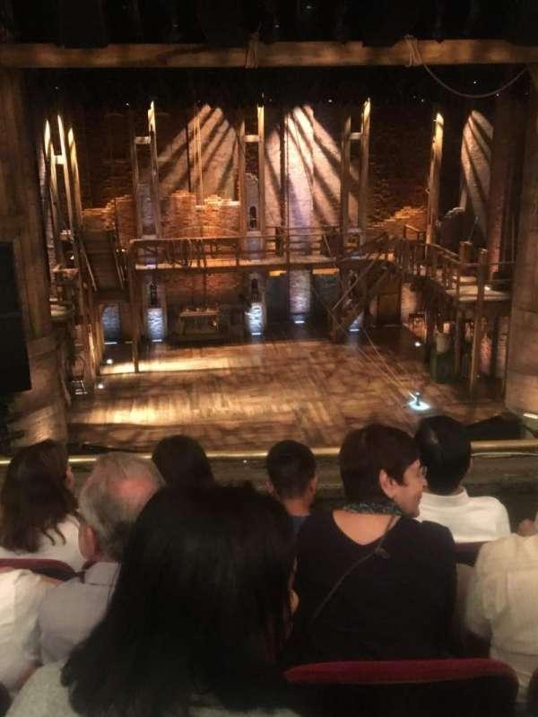 CIBC Theatre, secção: Mezzanine LC, fila: D, lugar: 305