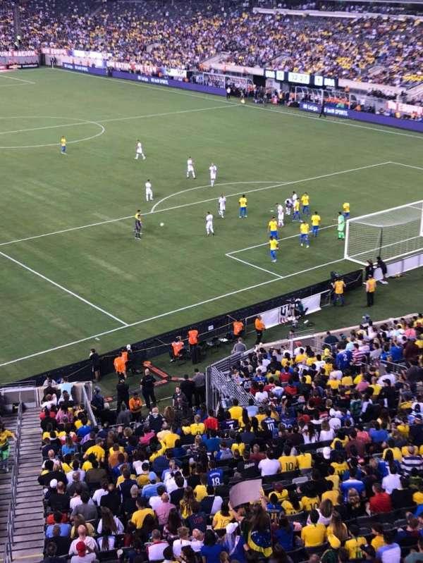 MetLife Stadium , secção: 205a, fila: 1, lugar: 12
