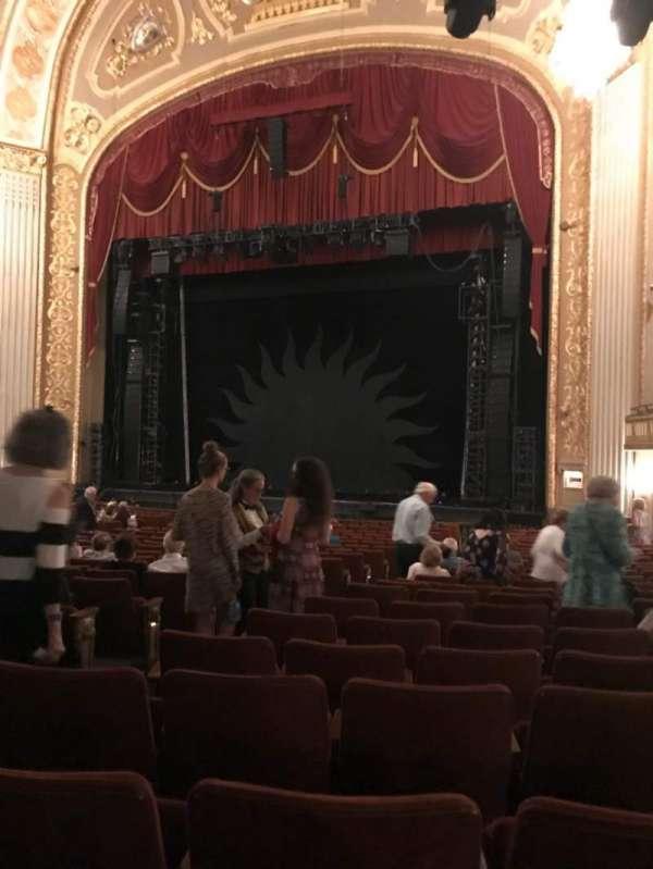 Orpheum Theatre (Memphis), secção: OR, fila: Z, lugar: 107