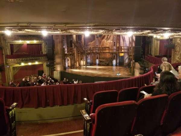 CIBC Theatre, secção: Dress circle r, fila: D, lugar: 4