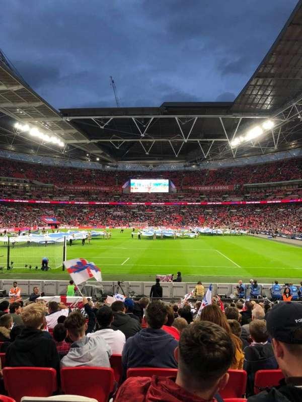 Wembley Stadium, secção: 132, fila: 18, lugar: 290