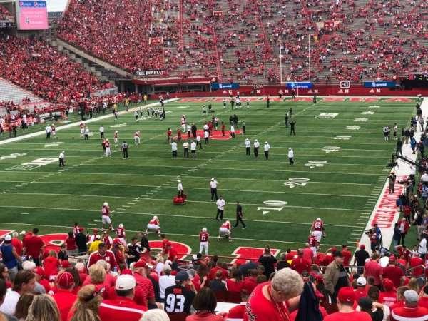 Memorial Stadium (Lincoln), secção: 34, fila: 41, lugar: 15
