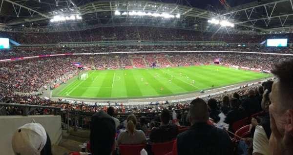 Wembley Stadium, secção: 229, fila: 12, lugar: 58