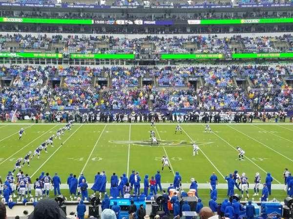 M&T Bank Stadium, secção: 100, fila: 29, lugar: 7