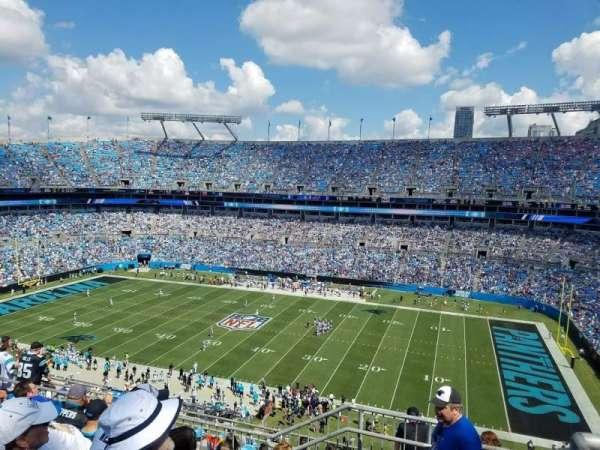 Bank of America Stadium, secção: 539, fila: 5, lugar: 2