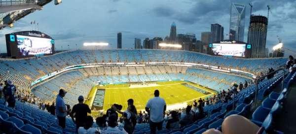 Bank of America Stadium, secção: 545, fila: 33, lugar: 5
