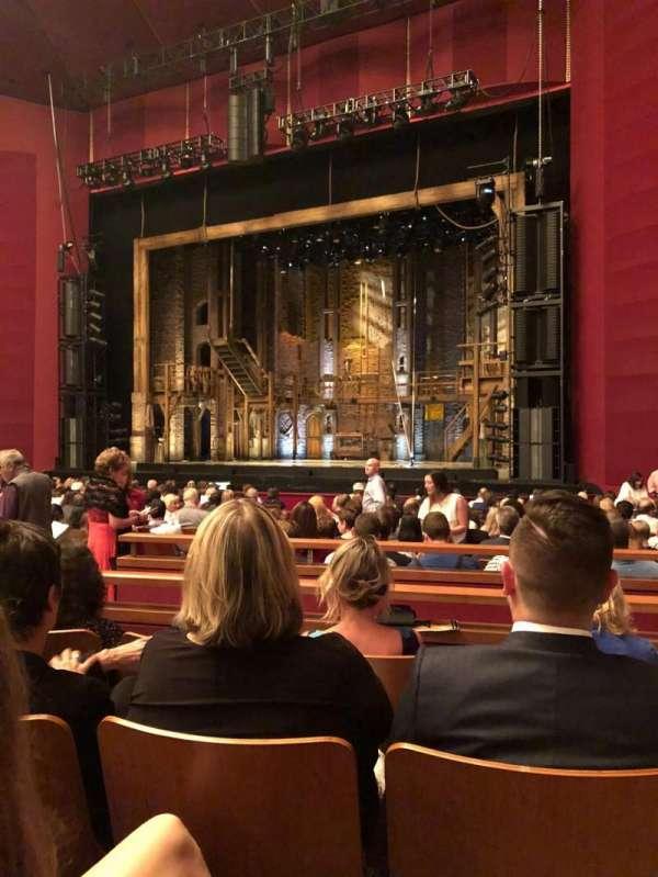 The Kennedy Center Opera House, secção: Orchestra Right, fila: U
