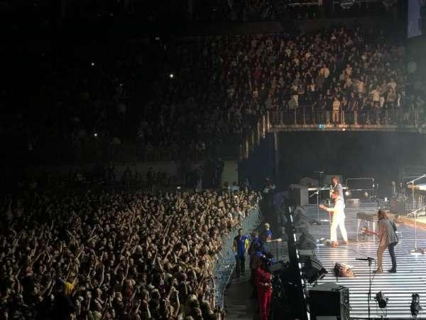 The O2 Arena, secção: 113, fila: Q, lugar: 399