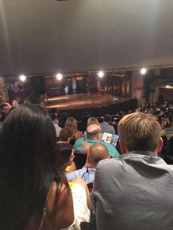 CIBC Theatre, secção: Dress Circle L, fila: F, lugar: 3