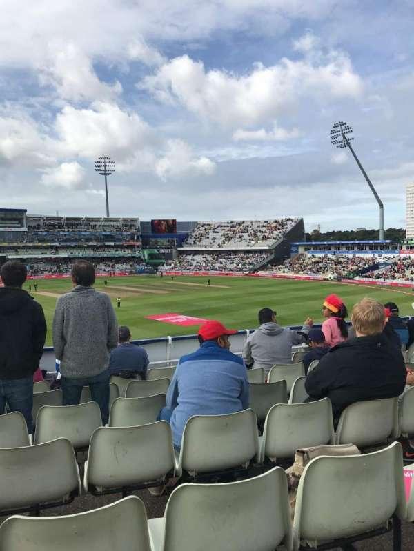 Edgbaston Cricket Ground, secção: 16B, fila: T, lugar: 26