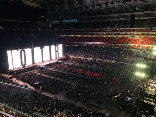 NRG Stadium, secção: 504, fila: H, lugar: 25